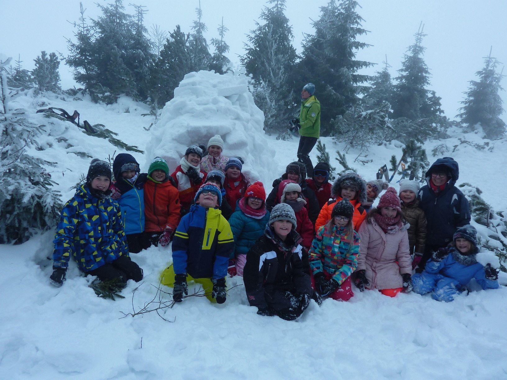 Ecole Lantriac Sortie Neige Ski