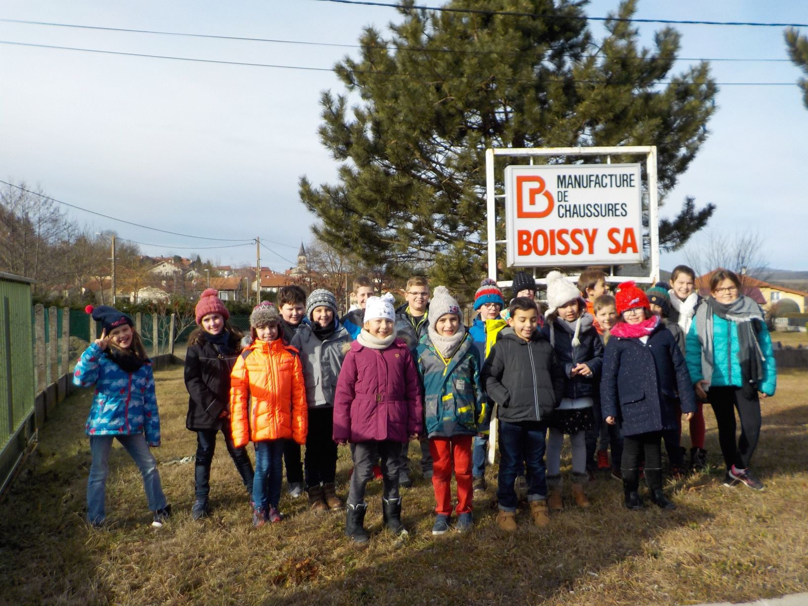 Ecole publique Lantriac Visite Entreprise Boissy