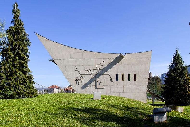 Le Corbusier de Firminy Ecole publique Lantriac