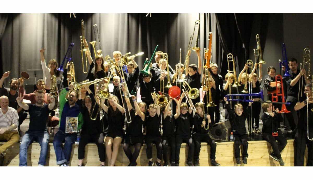 le-spectacle-trombonynio Ecole publique Lantriac