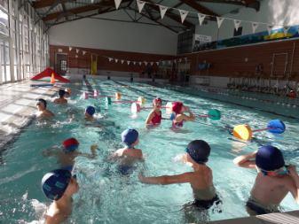 Classe piscine ecole le chant des fontaines 1