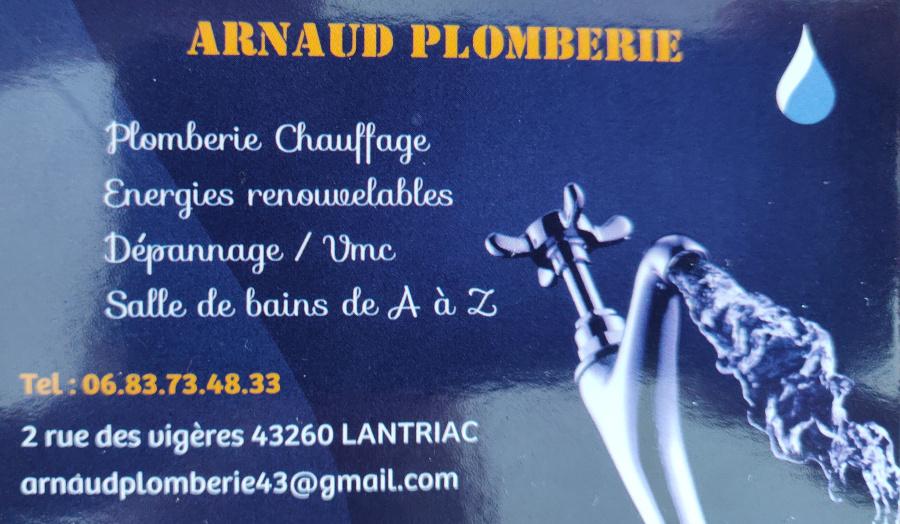 Arnaud Plomberie t1