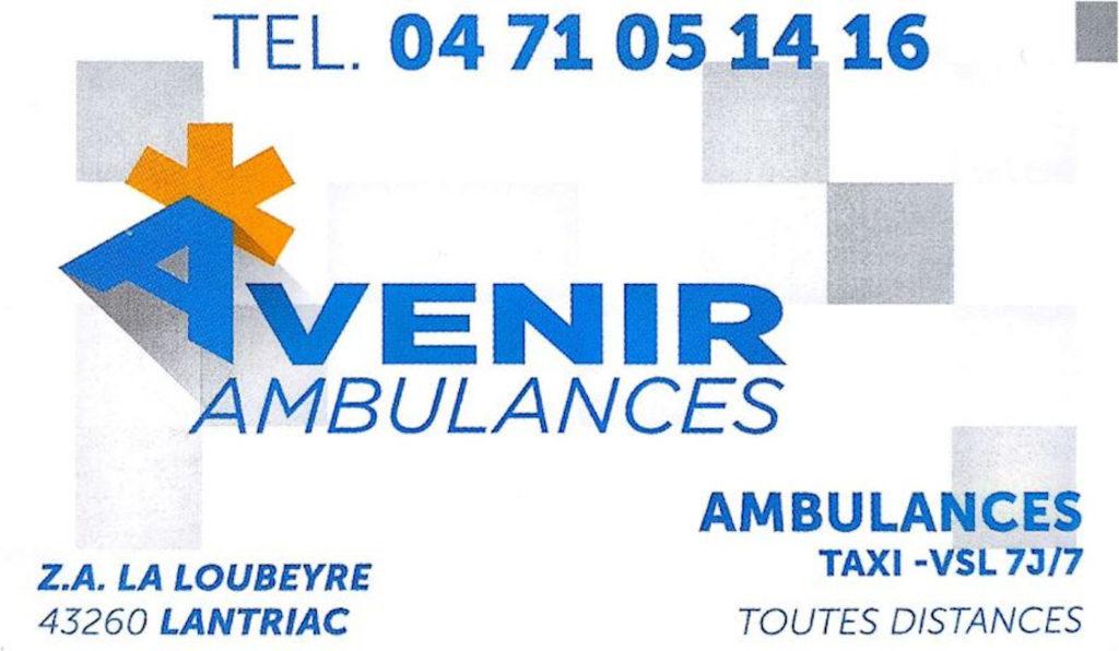 Avenir ambulance t2